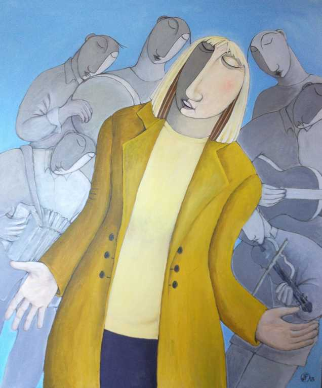 painting of Maddy Prior